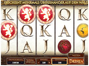 Thumbnail Game of Thrones Slot